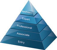 The CISCO training pyramid
